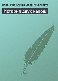 Владимир Соллогуб - История двух калош