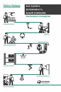 Майкл Вейдер -Как оценить бережливость вашей компании: Практическое руководство
