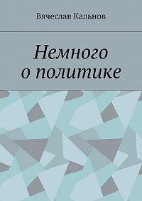 Вячеслав Кальнов -Немного ополитике