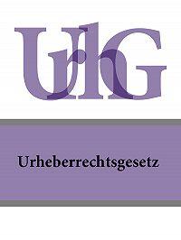 Deutschland -Urheberrechtsgesetz – UrhG