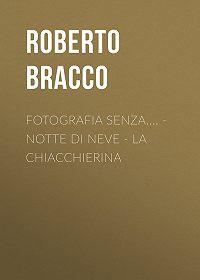 Roberto Bracco -Fotografia senza.... – Notte di neve – La chiacchierina