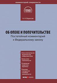 А. Н. Борисов - Комментарий к Федеральному закону «Об опеке и попечительстве» (постатейный)