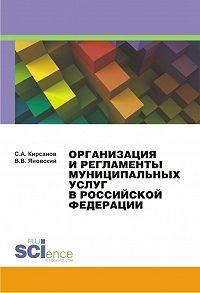Сергей Кирсанов -Организация и регламенты муниципальных услуг в Российской Федерации