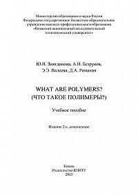 Артем Безруков -What are Polymers? (Что такое полимеры?)