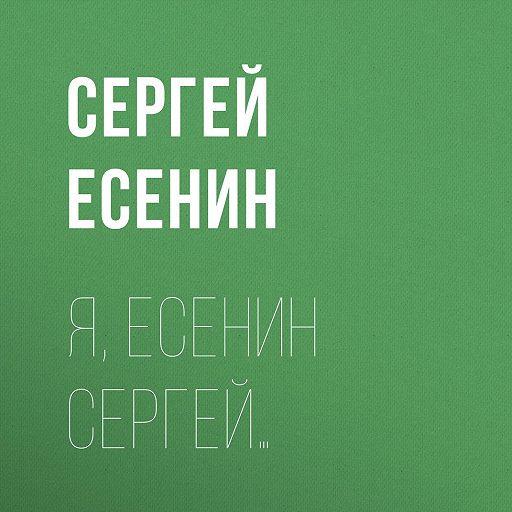 """Купить аудиокнигу """"Я, Есенин Сергей…"""""""