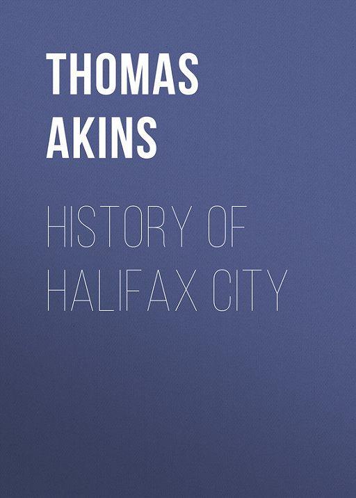 History of Halifax City