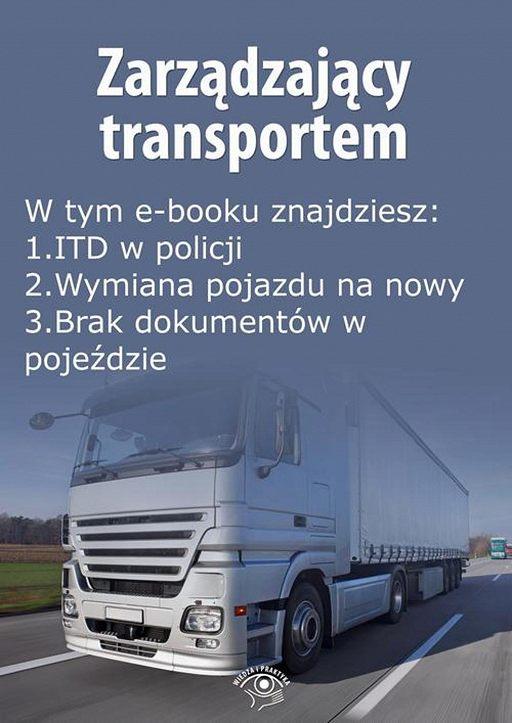 Zarządzający transportem, wydanie styczeń 2016 r.