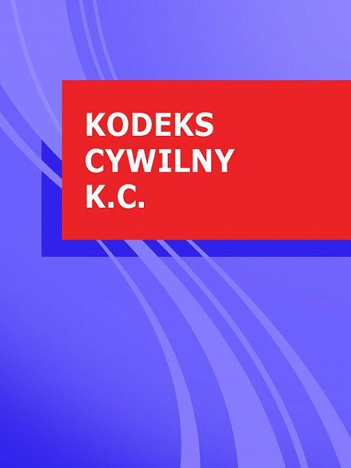 Kodeks cywilny k.c.